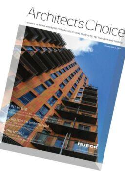 Architect's Choice – December 2015 – January 2016