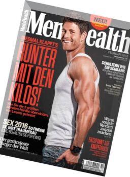 Men's Health Germany – Februar 2016