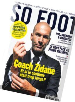 So Foot – Fevrier 2016