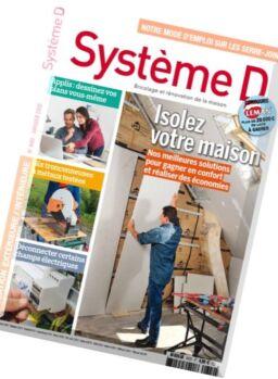 Systeme D – Janvier 2016