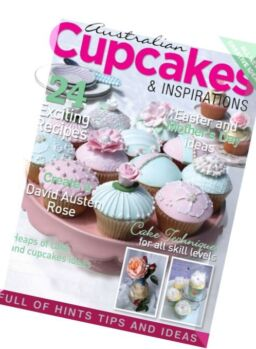 Australian Cupcakes and Inspiration – Volume 4 Issue 2, 2016