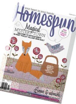 Australian Homespun – February 2016
