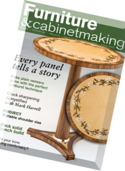 Furniture & Cabinetmaking – March 2016