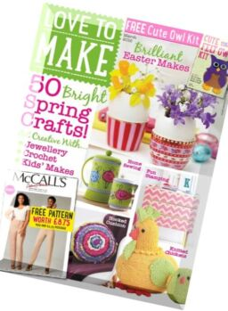 Love to make with Woman's Weekly – March 2016