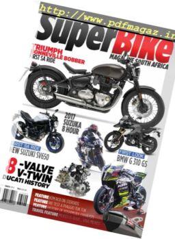 Superbike South Africa – September 2017