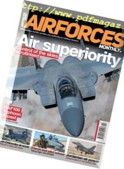 AirForces Monthly – October 2018