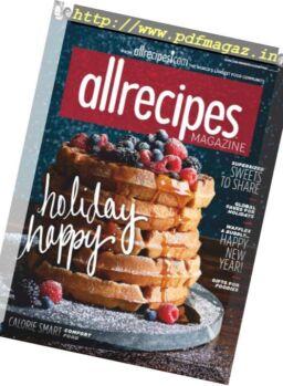 Allrecipes – December-January 2018