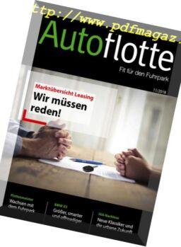 Autoflotte – Oktober 2018