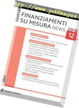 Finanziamenti su misura news – Dicembre 2018