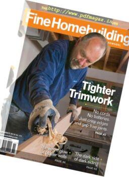 Fine Homebuilding – November 2018