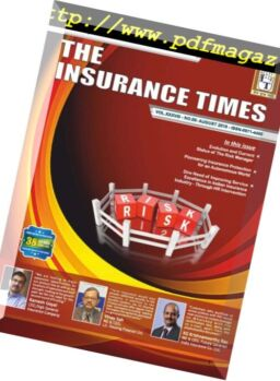 The Insurance Times – August 2018