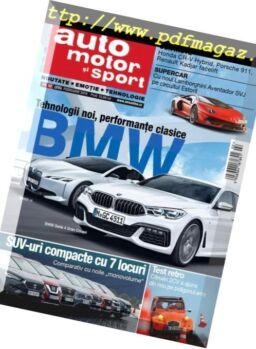 Auto, motor si sport Romania – februarie 2019