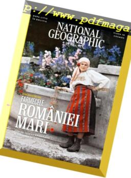 National Geographic Romania – martie 2019
