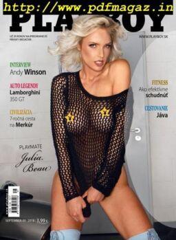 Playboy Slovakia – september 2018