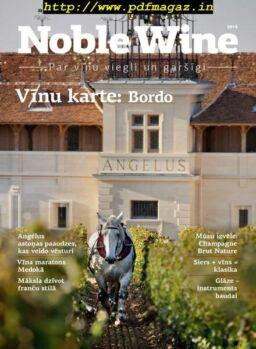 Noble Wine Žurnāls – aprīlis 2019