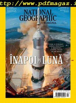 National Geographic Romania – iulie 2019