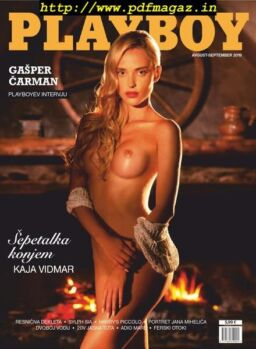 Playboy Slovenia – avgust 2019