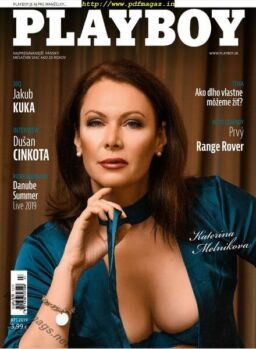 Playboy Slovakia – July 2019