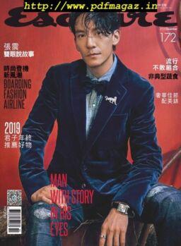 Esquire Taiwan – 2019-12-01