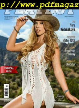 Playboy Slovakia – December 2019