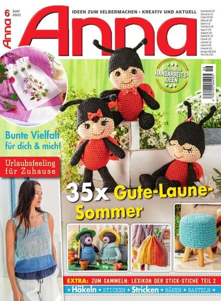 Anna Germany – Juni 2021 Cover