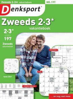 Denksport Zweeds 2-3 vakantieboek – 01 april 2021