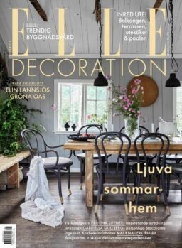 Elle Decoration Sweden – maj 2021