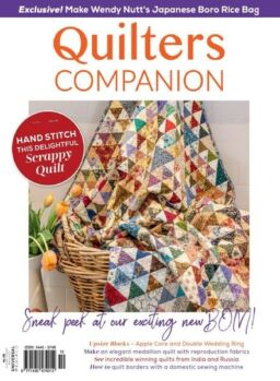 Quilters Companion – May 2021
