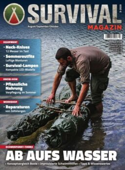 SURVIVAL Magazin – August 2020