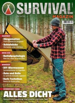 SURVIVAL Magazin – Mai 2021