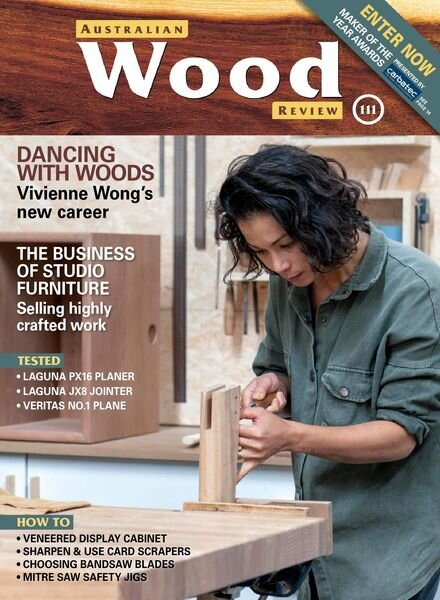 Australian Wood Review – June 2021 Cover