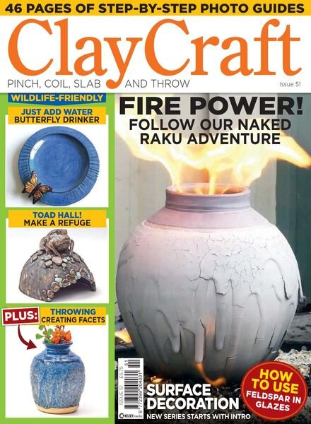 ClayCraft – Issue 51 – May 2021 Cover