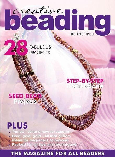 Creative Beading – June 2021 Cover