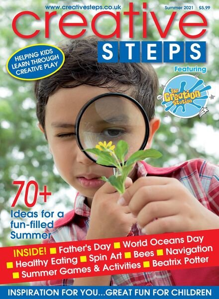 Creative Steps – May 2021 Cover