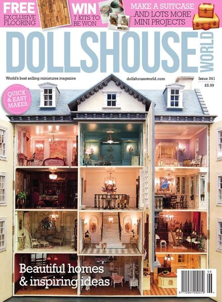 Dolls House World – Issue 341 – May 2021 Cover