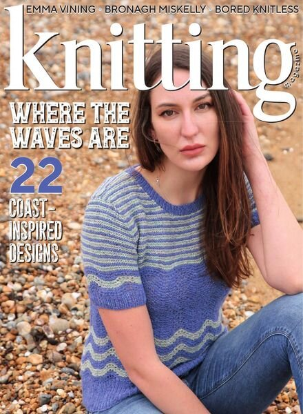 Knitting – Issue 218 – May 2021 Cover