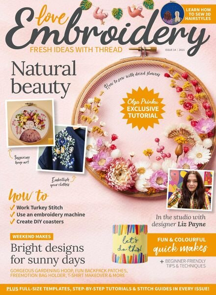 Love Embroidery – 19 May 2021 Cover