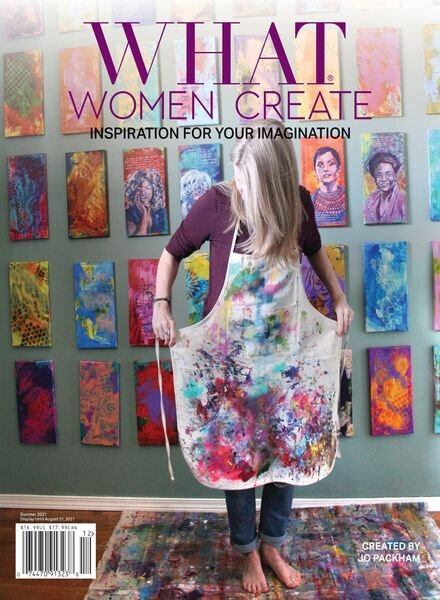 What Women Create – 27 May 2021 Cover