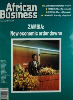 African Business English Edition – December 1991