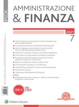 Amministrazione & Finanza – Luglio 2021