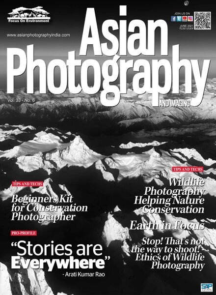 Asian Photography – June 2021 Cover