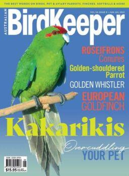 Australian Birdkeeper – Volume 34 Issue 9 – June-July 2021