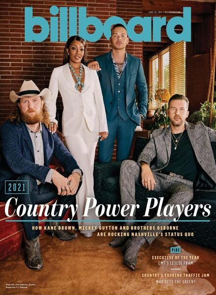 Billboard – June 26, 2021 Cover