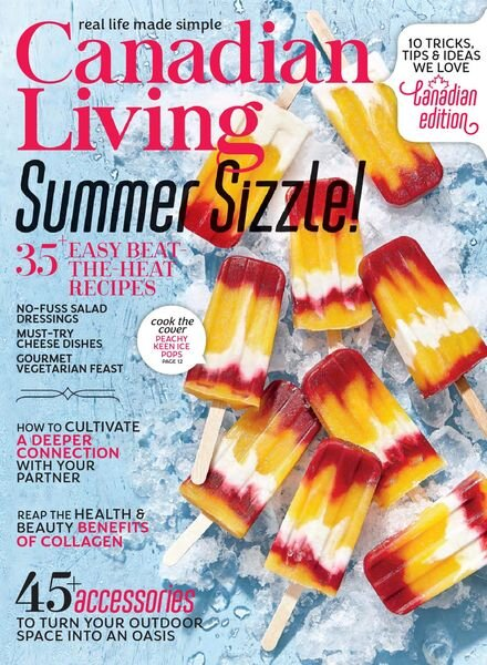 Canadian Living – July 2021 Cover