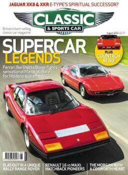 Classic & Sports Car UK – August 2021