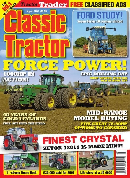 Classic Tractor – August 2021 Cover
