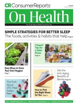 Consumer Reports on Health – July 2021