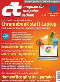 c't Magazin fur Computertechnik – 03 Juli 2021