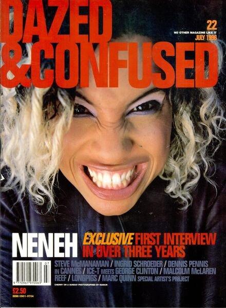 Dazed Magazine – Issue 22 Cover