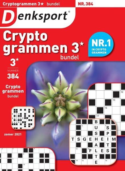 Denksport Cryptogrammen 3 bundel – 24 juni 2021 Cover